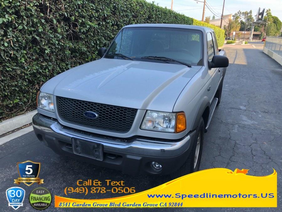 Used Ford Ranger 4dr Supercab 4.0L XLT 4WD 2002 | Speedline Motors. Garden Grove, California