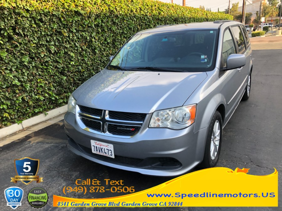 Used Dodge Grand Caravan 4dr Wgn SXT 2013 | Speedline Motors. Garden Grove, California