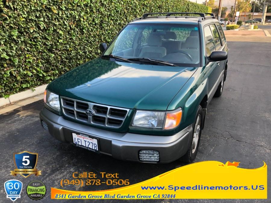 Used 1999 Subaru Forester in Garden Grove, California   Speedline Motors. Garden Grove, California