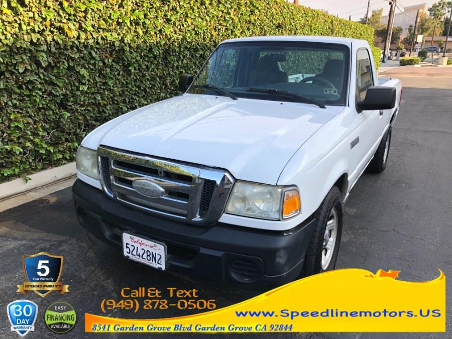 Used 2008 Ford Ranger in Garden Grove, California   Speedline Motors. Garden Grove, California