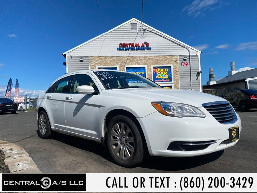 Used Chrysler 200 4dr Sdn LX 2013   Central A/S LLC. East Windsor, Connecticut