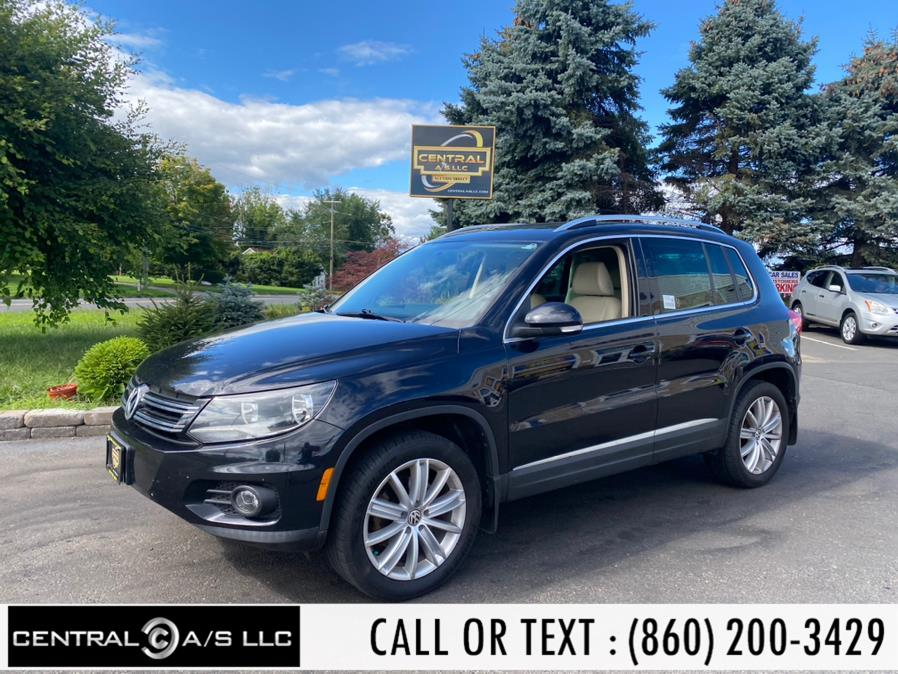 Used Volkswagen Tiguan 4MOTION 4dr Auto SE w/Appearance 2014   Central A/S LLC. East Windsor, Connecticut