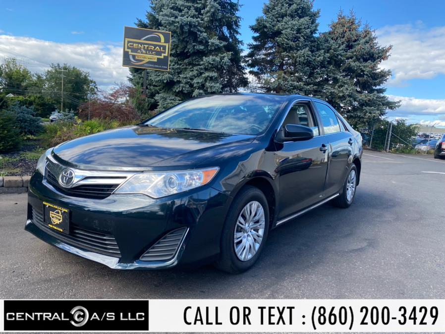 Used Toyota Camry 4dr Sdn I4 Auto LE 2013   Central A/S LLC. East Windsor, Connecticut