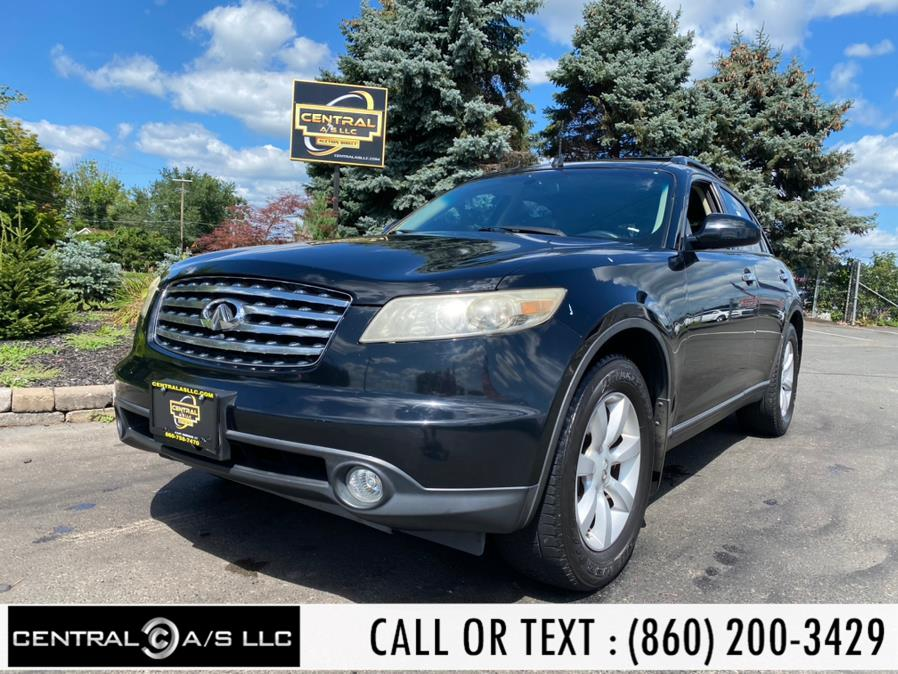 Used Infiniti FX35 4dr AWD 2005 | Central A/S LLC. East Windsor, Connecticut