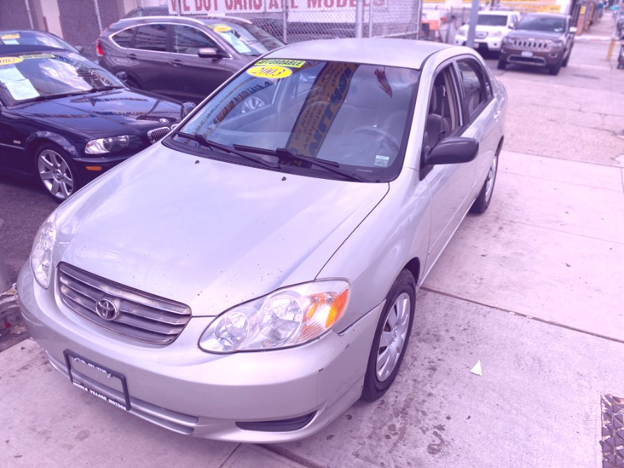 Used 2003 Toyota Corolla in Middle Village, New York | Middle Village Motors . Middle Village, New York
