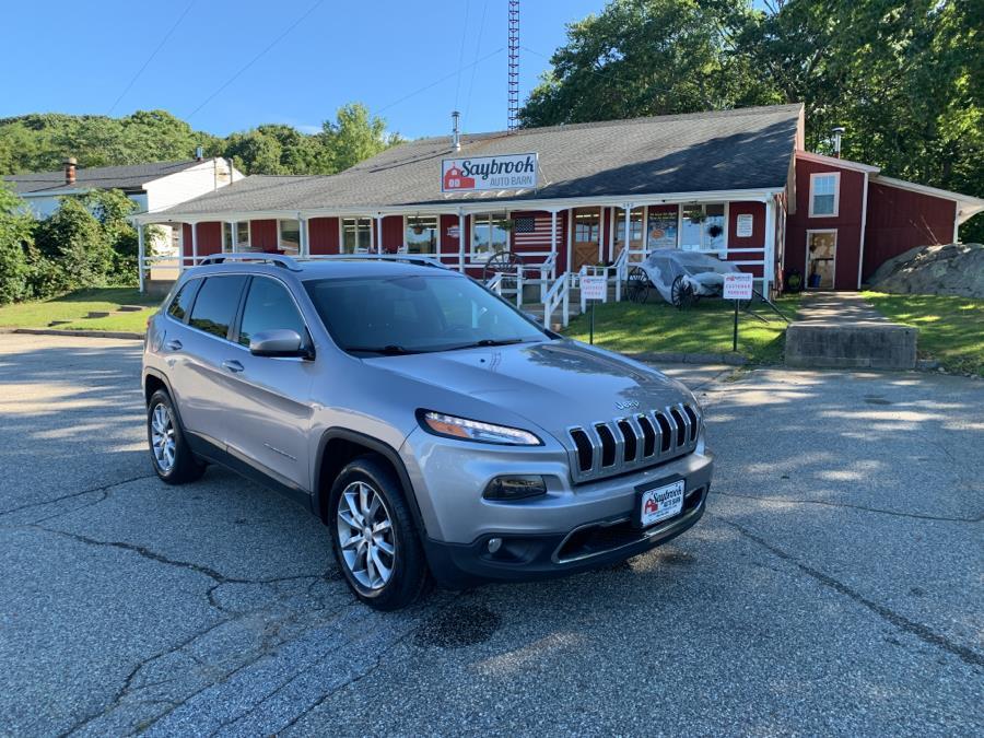 Used Jeep Cherokee Limited 4x4 2018 | Saybrook Auto Barn. Old Saybrook, Connecticut