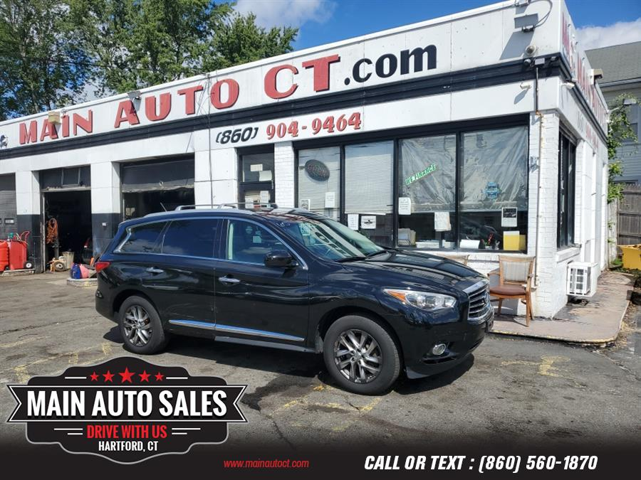 Used Infiniti JX35 AWD 4dr 2013   Main Auto Sales LLC. Hartford, Connecticut