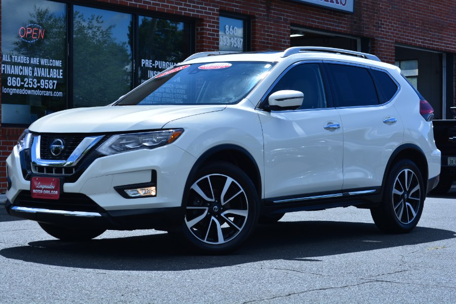 Used 2018 Nissan Rogue in ENFIELD, Connecticut | Longmeadow Motor Cars. ENFIELD, Connecticut
