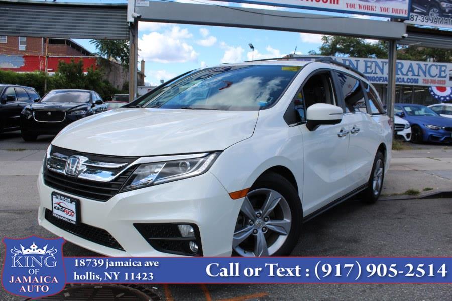 Used Honda Odyssey EX-L w/Navi/RES Auto 2018   King of Jamaica Auto Inc. Hollis, New York