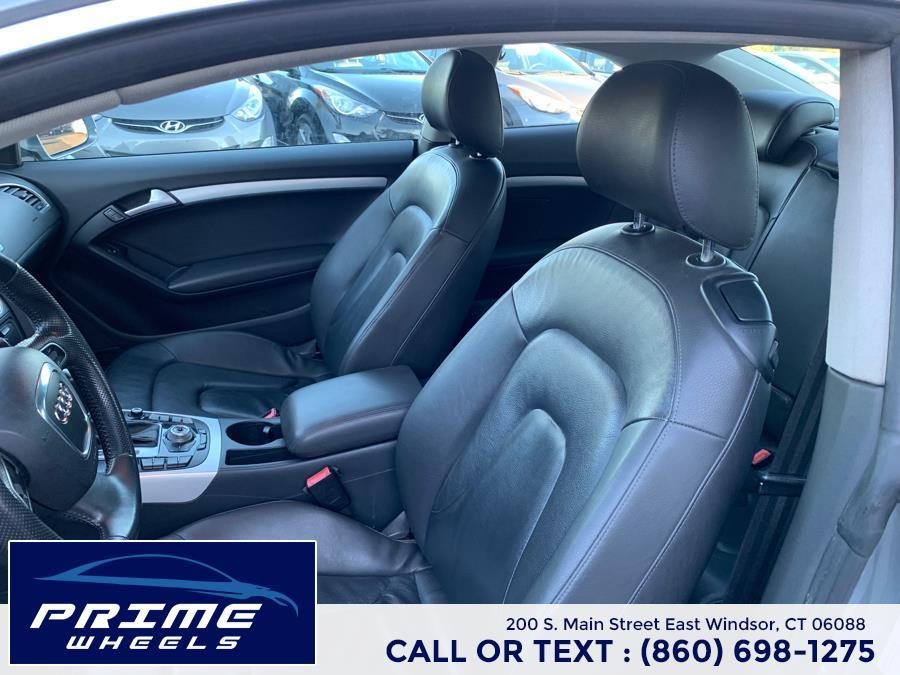 Used Audi A5 2dr Cpe Auto quattro 3.2L Premium Plus 2010   Prime Wheels. East Windsor, Connecticut