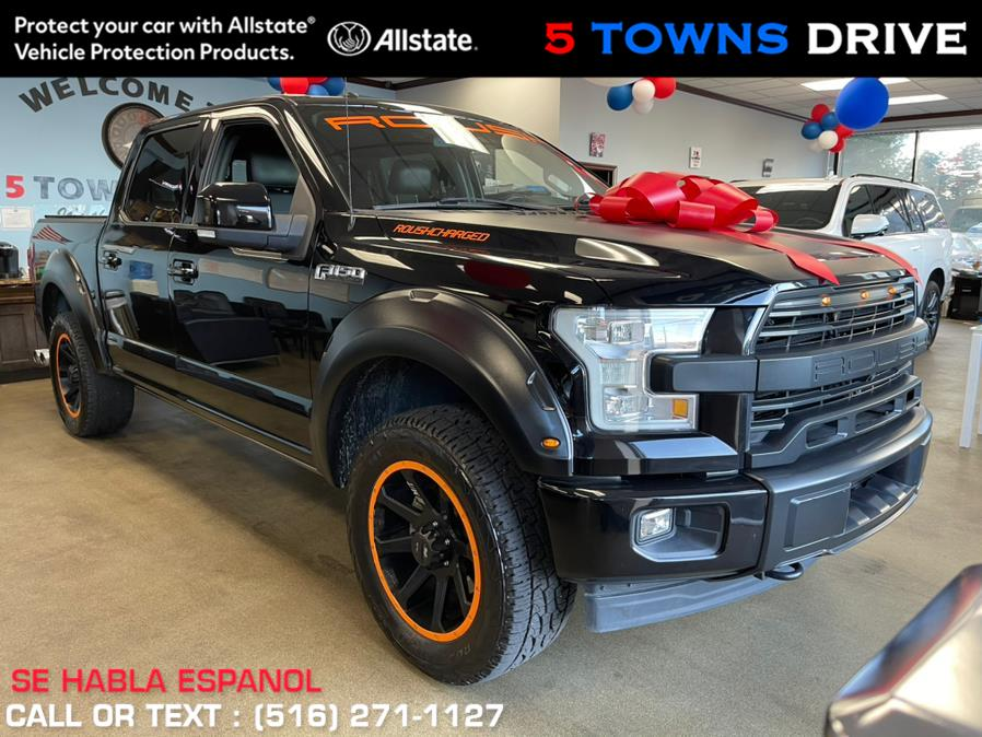Used Ford F-150 ROUSH Platinum 4WD SuperCrew 6.5'' Box 2017   5 Towns Drive. Inwood, New York