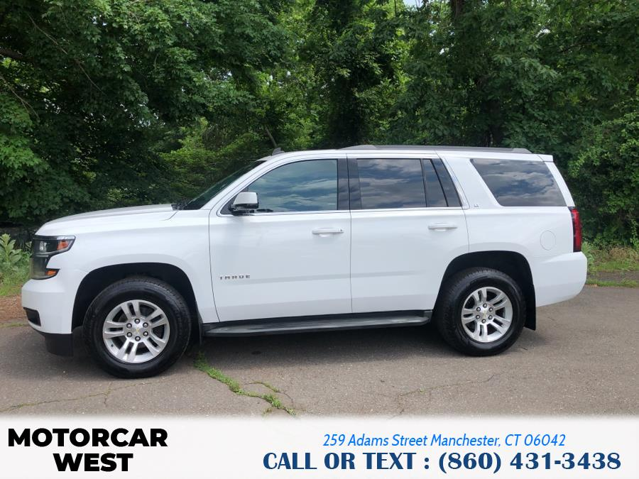 Used Chevrolet Tahoe 4WD 4dr LT 2015 | Motorcar West. Manchester, Connecticut