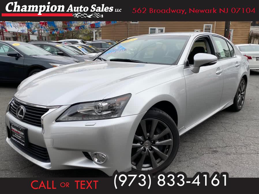 Used 2015 Lexus GS 350 in Newark, New Jersey | Champion Auto Sales. Newark, New Jersey