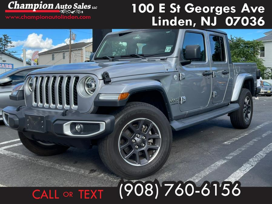 Used 2020 Jeep Gladiator in Linden, New Jersey | Champion Auto Sales. Linden, New Jersey