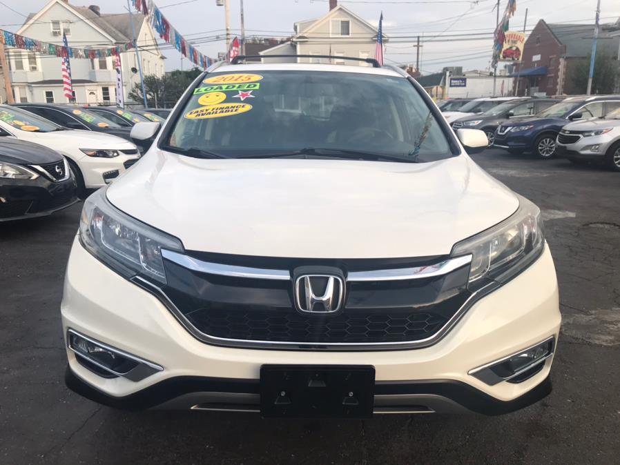 Used Honda CR-V EX-L AWD W/ NAV 2015   Affordable Motors Inc. Bridgeport, Connecticut