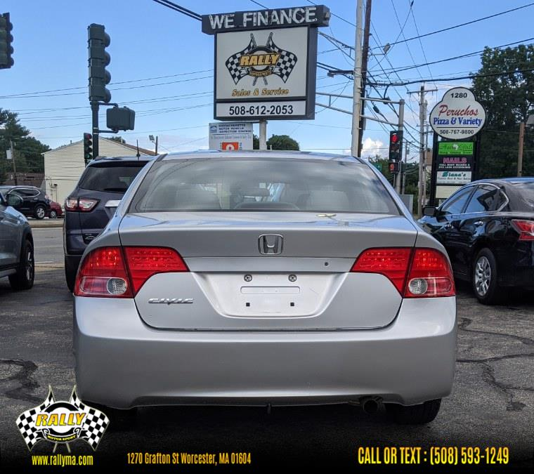 Used Honda Civic Sdn LX AT 2006 | Rally Motor Sports. Worcester, Massachusetts