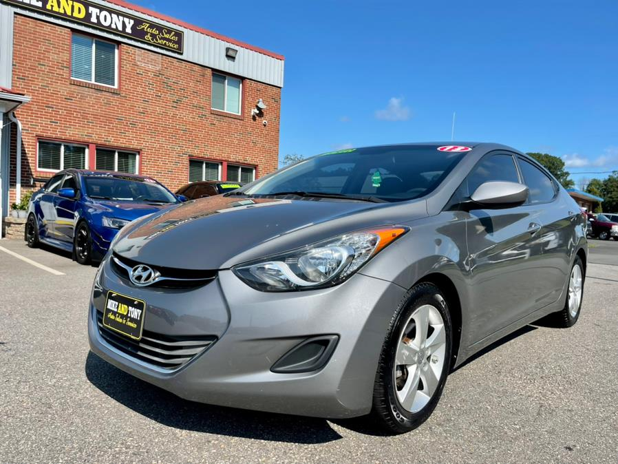 Used Hyundai Elantra 4dr Sdn Man GLS 2013   Mike And Tony Auto Sales, Inc. South Windsor, Connecticut