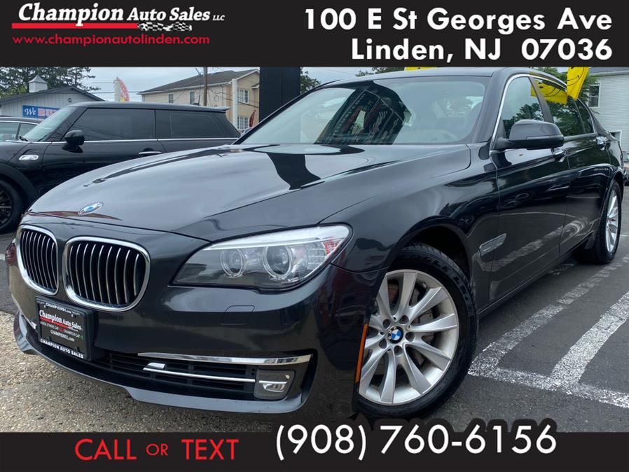 Used 2013 BMW 7 Series in Linden, New Jersey | Champion Used Auto Sales. Linden, New Jersey