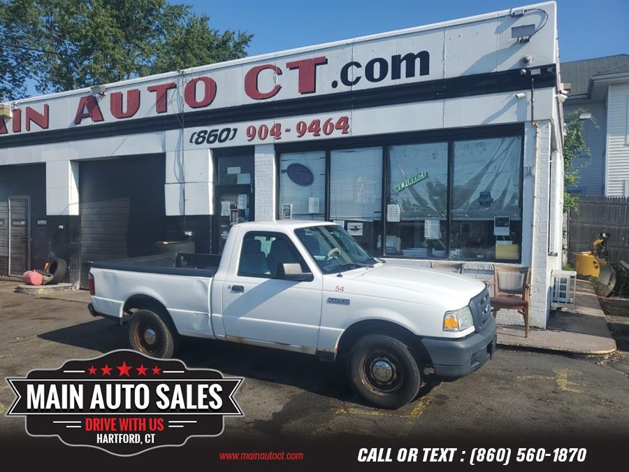 "Used Ford Ranger 2WD Reg Cab 112"" XL 2007   Main Auto Sales LLC. Hartford, Connecticut"