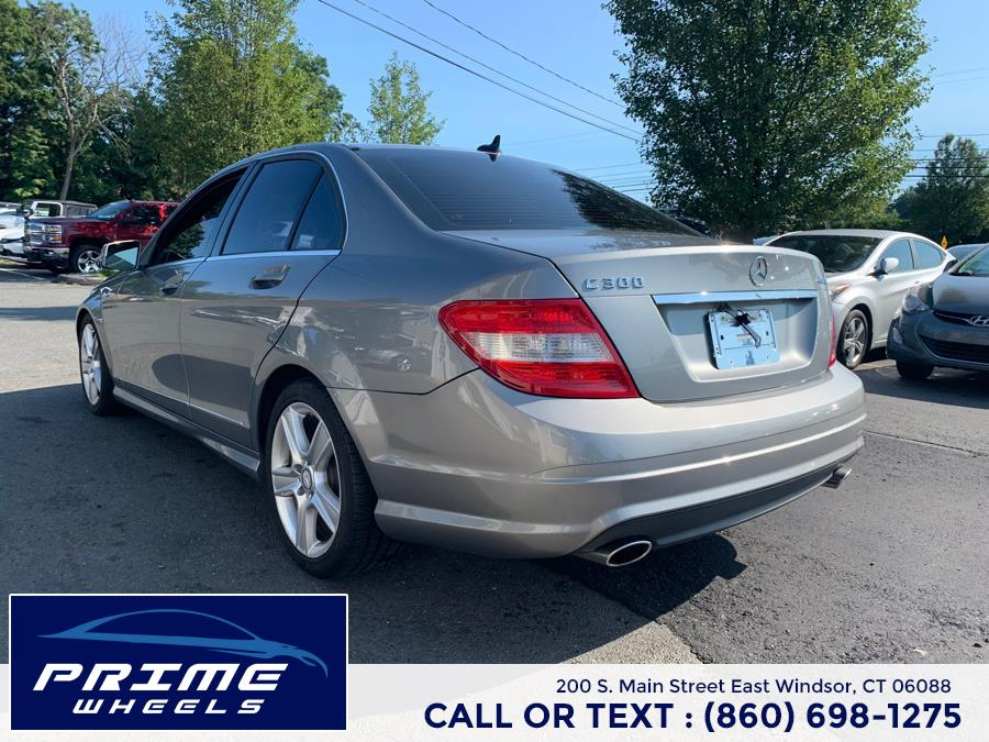 Used Mercedes-Benz C-Class 4dr Sdn C300 Sport 4MATIC 2011 | Prime Wheels. East Windsor, Connecticut