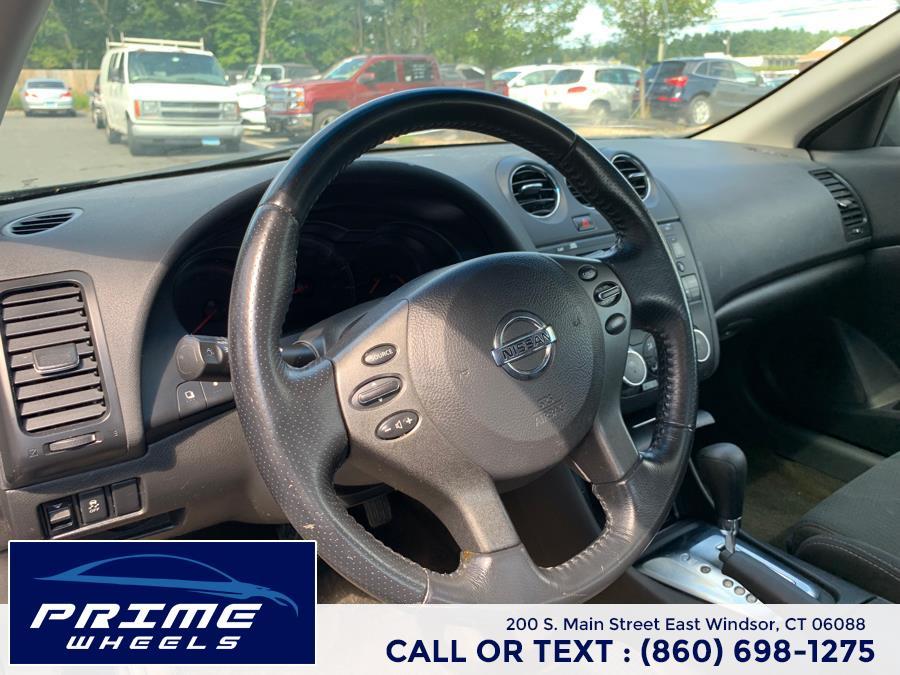 Used Nissan Altima 2dr Cpe I4 CVT 2.5 S 2011 | Prime Wheels. East Windsor, Connecticut