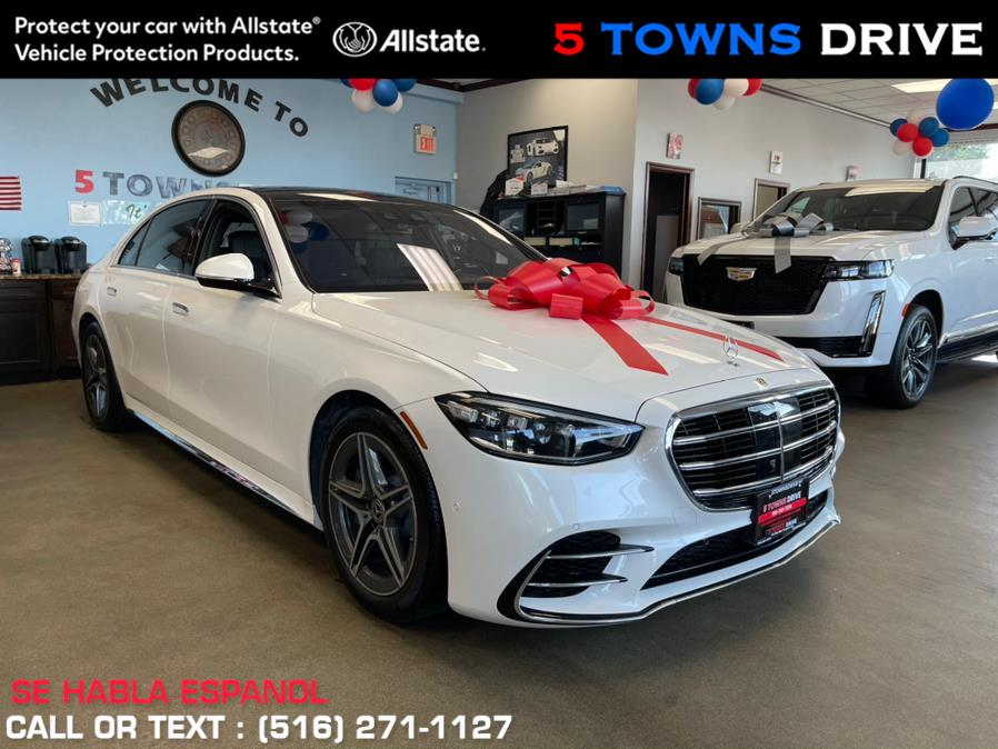 Used Mercedes-Benz S-Class S 580 4MATIC Sedan 2021 | 5 Towns Drive. Inwood, New York