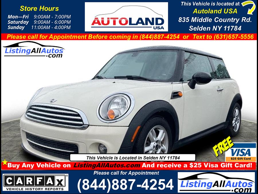 Used 2013 Mini Hardtop in Patchogue, New York | www.ListingAllAutos.com. Patchogue, New York