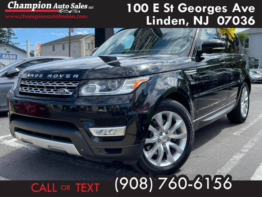 Used 2014 Land Rover Range Rover Sport in Linden, New Jersey | Champion Auto Sales. Linden, New Jersey