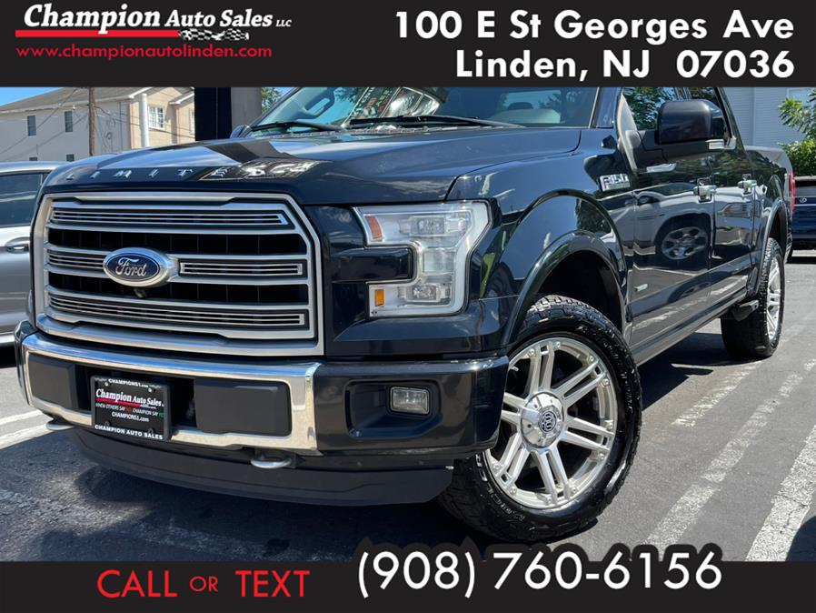 Used 2016 Ford F-150 in Linden, New Jersey | Champion Auto Sales. Linden, New Jersey