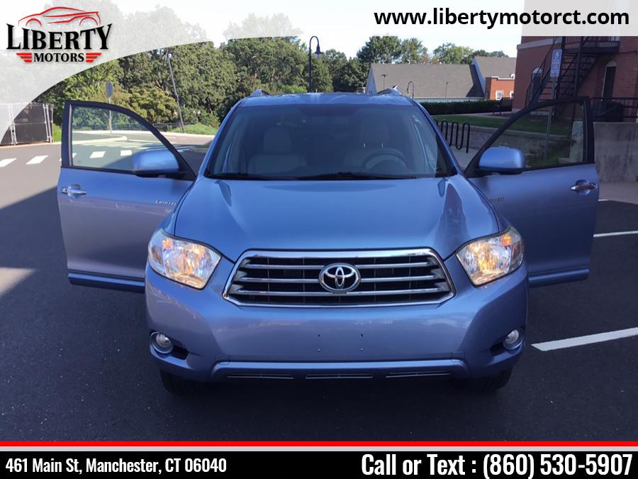 Used Toyota Highlander 4WD 4dr Limited 2008 | Liberty Motors. Manchester, Connecticut