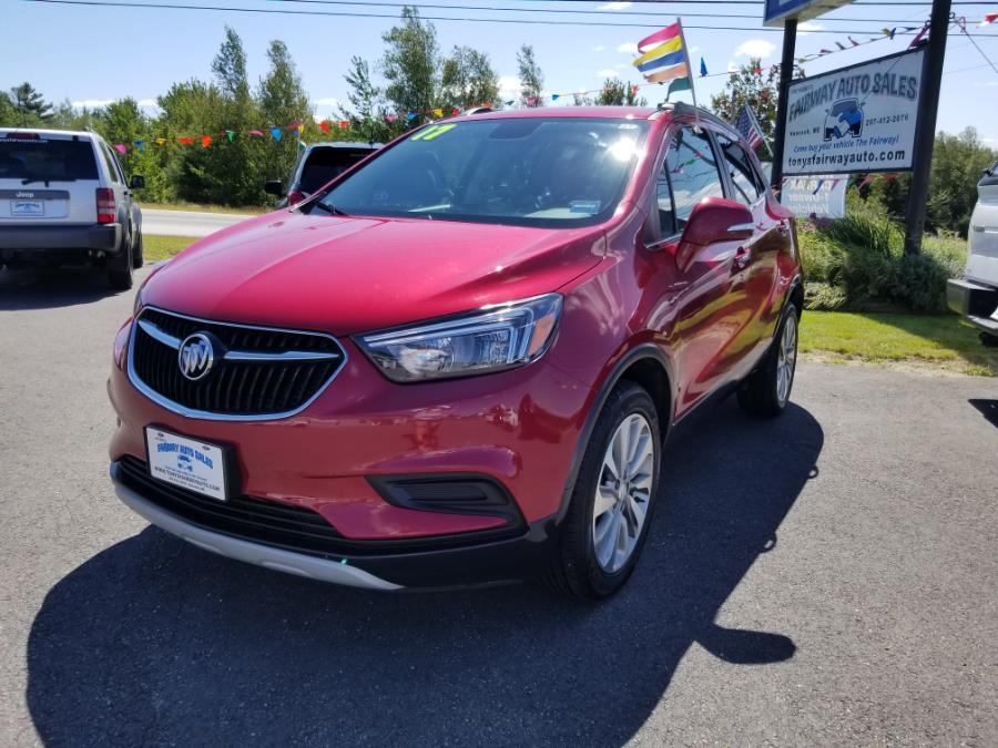 Used Buick Encore AWD 4dr Preferred 2017 | Fairway Auto Sales. Hancock, Maine