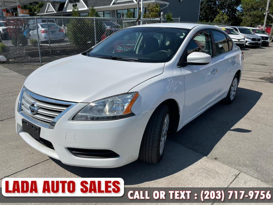 Used Nissan Sentra 4dr Sdn I4 CVT SV 2013 | Lada Auto Sales. Bridgeport, Connecticut