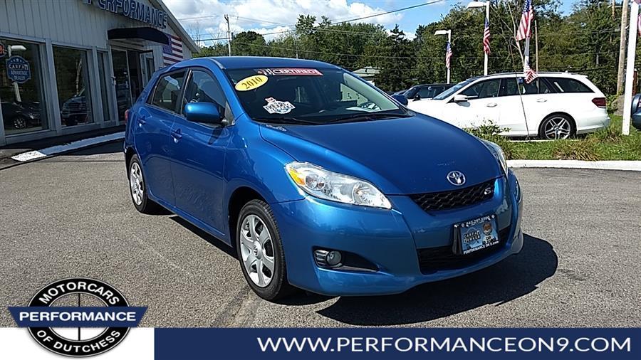 Used 2010 Toyota Matrix in Wappingers Falls, New York | Performance Motorcars Inc. Wappingers Falls, New York