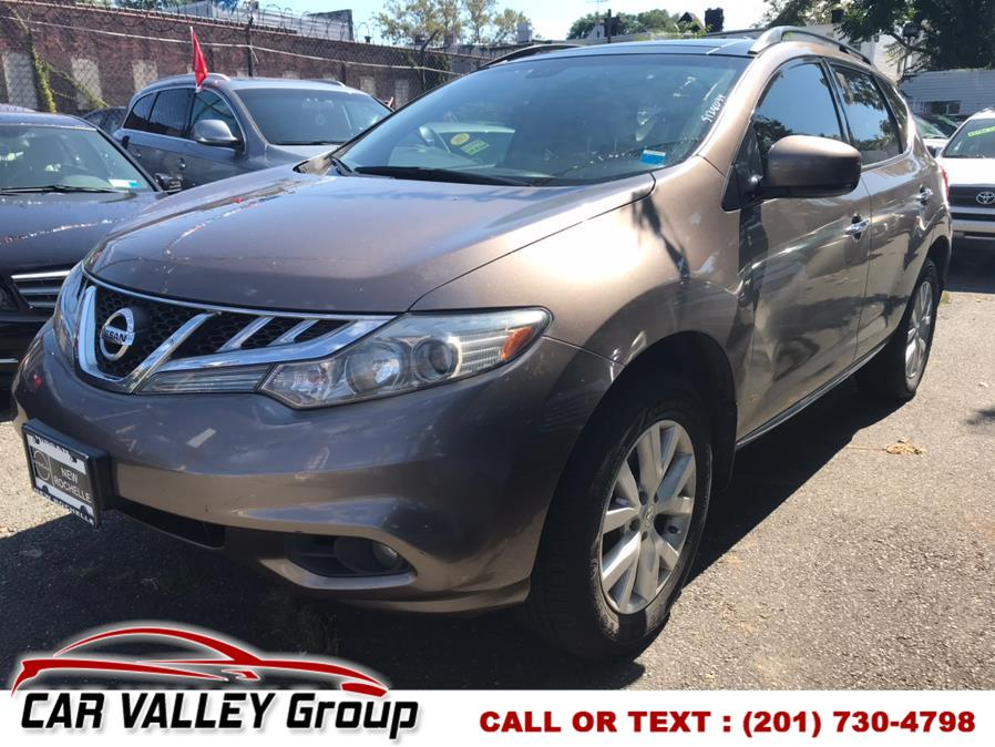 Used Nissan Murano AWD 4dr SV 2013   Car Valley Group. Jersey City, New Jersey
