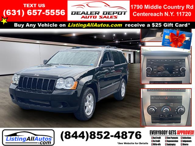 Used 2008 Jeep Grand Cherokee in Patchogue, New York | www.ListingAllAutos.com. Patchogue, New York