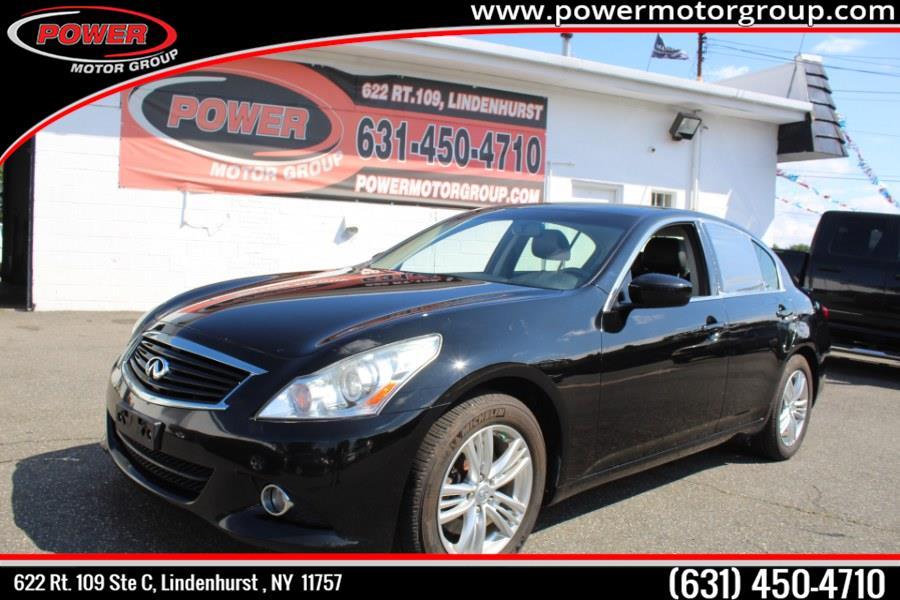 Used INFINITI G37 Sedan 4dr x AWD 2013   Power Motor Group. Lindenhurst, New York