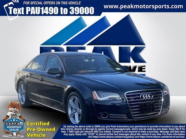 Used Audi A8 4dr Sdn 3.0L 2013 | Peak Automotive Inc.. Bayshore, New York