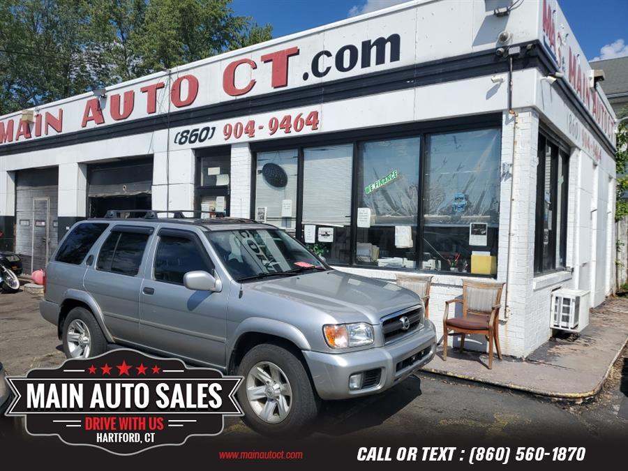 Used Nissan Pathfinder LE 4WD Auto 2003   Main Auto Sales LLC. Hartford, Connecticut
