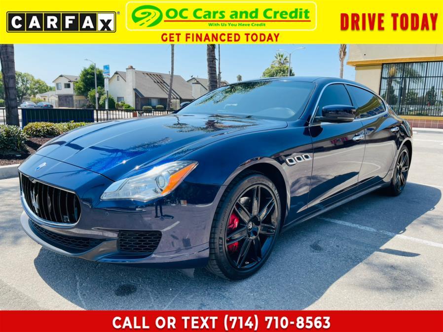 Used 2016 Maserati Quattroporte in Garden Grove, California | OC Cars and Credit. Garden Grove, California