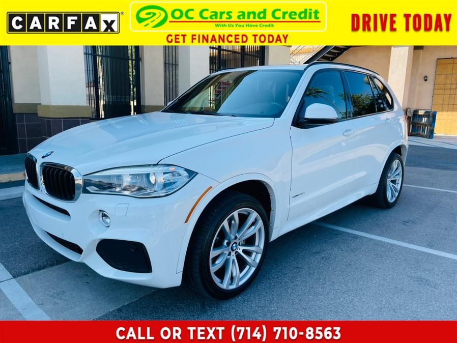 Used BMW X5 AWD 4dr xDrive35d 2016 | OC Cars and Credit. Garden Grove, California