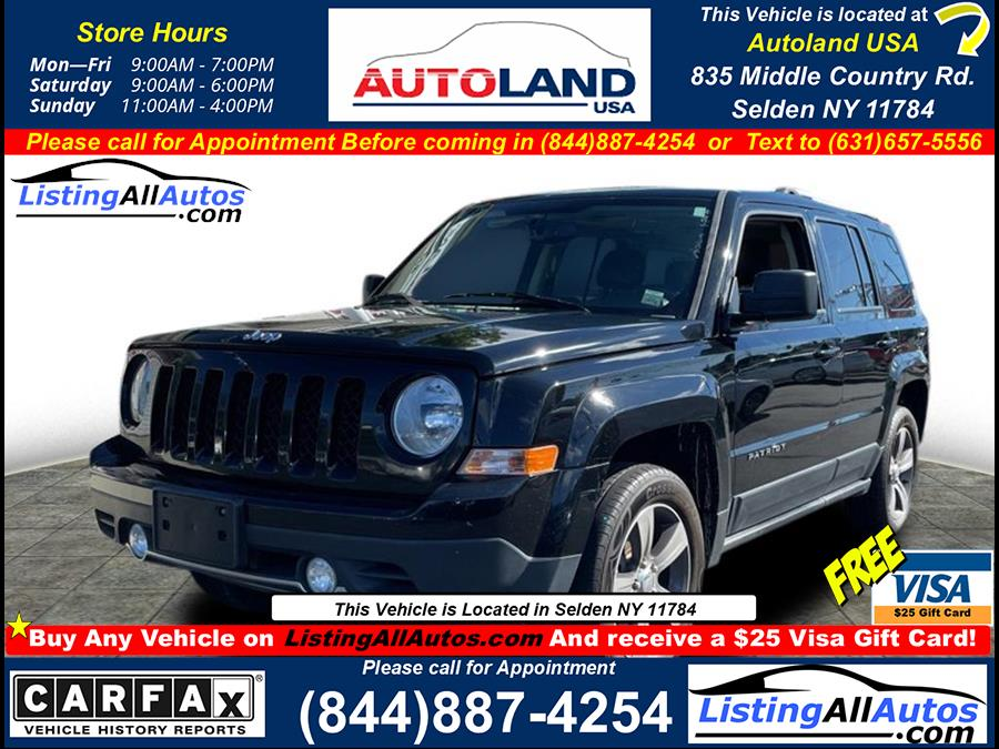 Used 2016 Jeep Patriot in Patchogue, New York | www.ListingAllAutos.com. Patchogue, New York