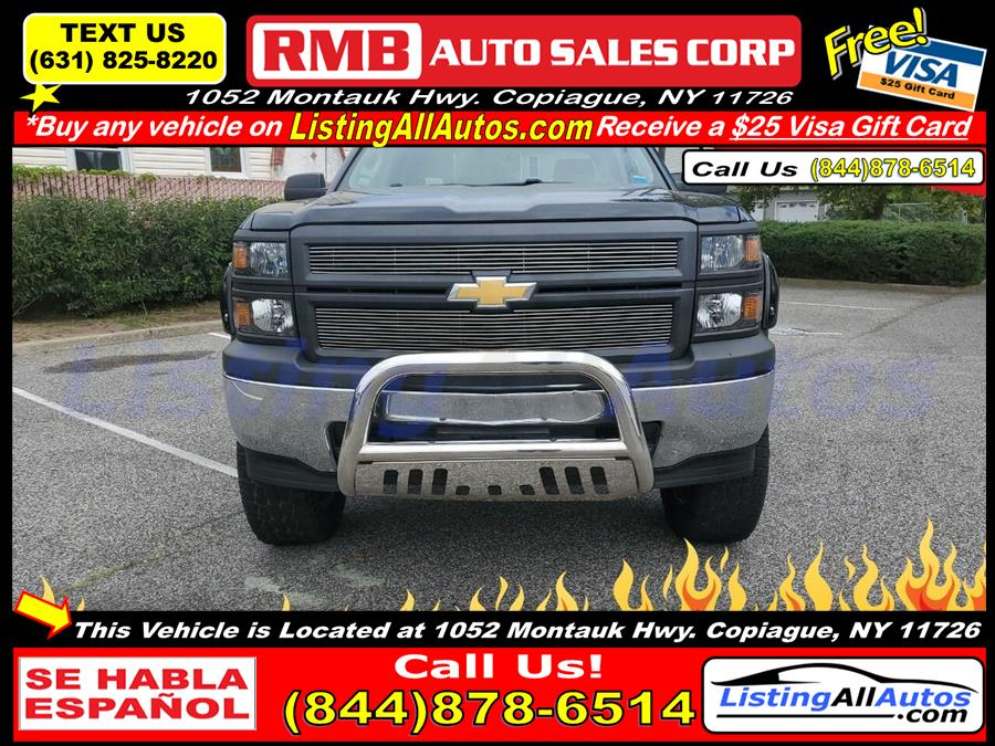 Used Chevrolet Silverado 1500 Work Truck 4x4 4dr Double Cab 6.5 ft. SB w/2WT 2014 | www.ListingAllAutos.com. Patchogue, New York