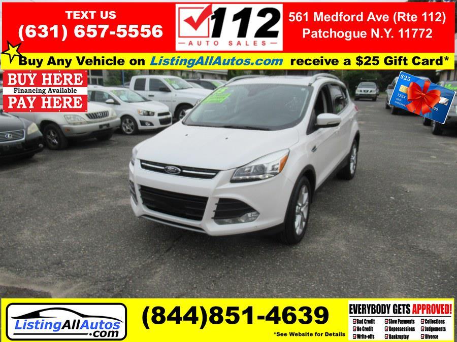 Used Ford Escape 4WD 4dr Titanium 2015   www.ListingAllAutos.com. Patchogue, New York