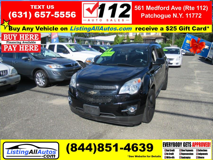 Used 2013 Chevrolet Equinox in Patchogue, New York   www.ListingAllAutos.com. Patchogue, New York