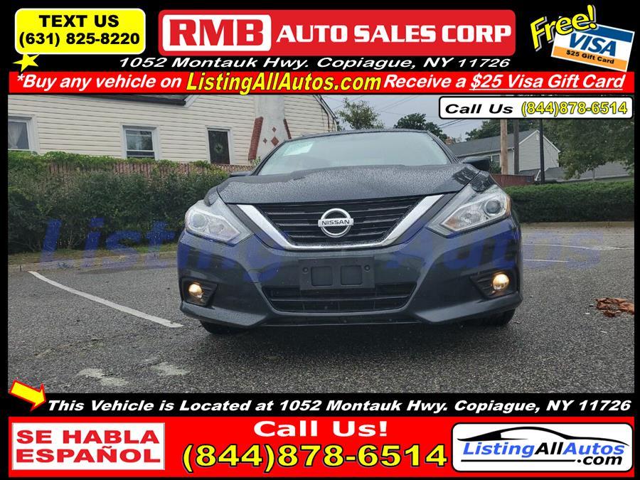 Used Nissan Altima 2.5 SV 4dr Sedan (midyear release) 2017   www.ListingAllAutos.com. Patchogue, New York