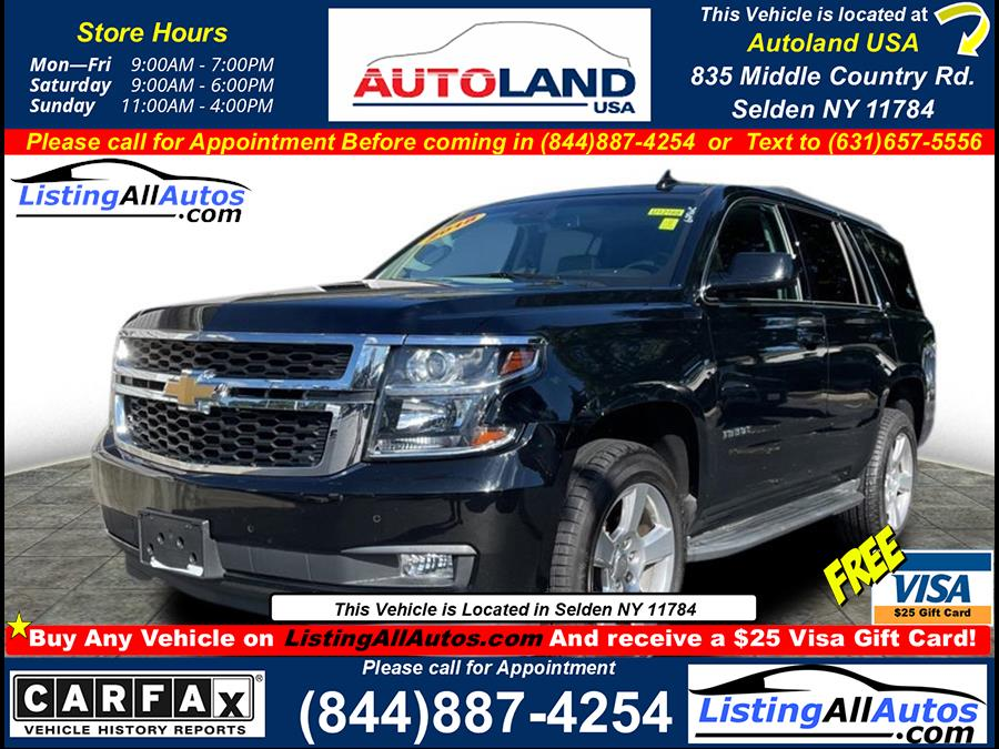 Used 2018 Chevrolet Tahoe in Patchogue, New York | www.ListingAllAutos.com. Patchogue, New York