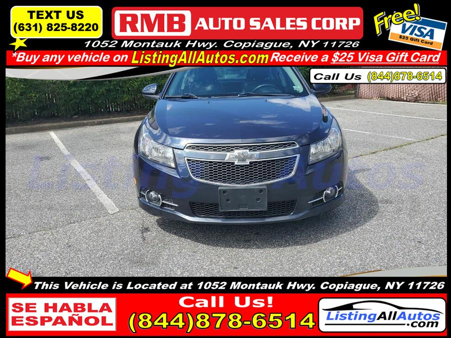 Used Chevrolet Cruze 2LT Manual 4dr Sedan w/1SG 2014 | www.ListingAllAutos.com. Patchogue, New York
