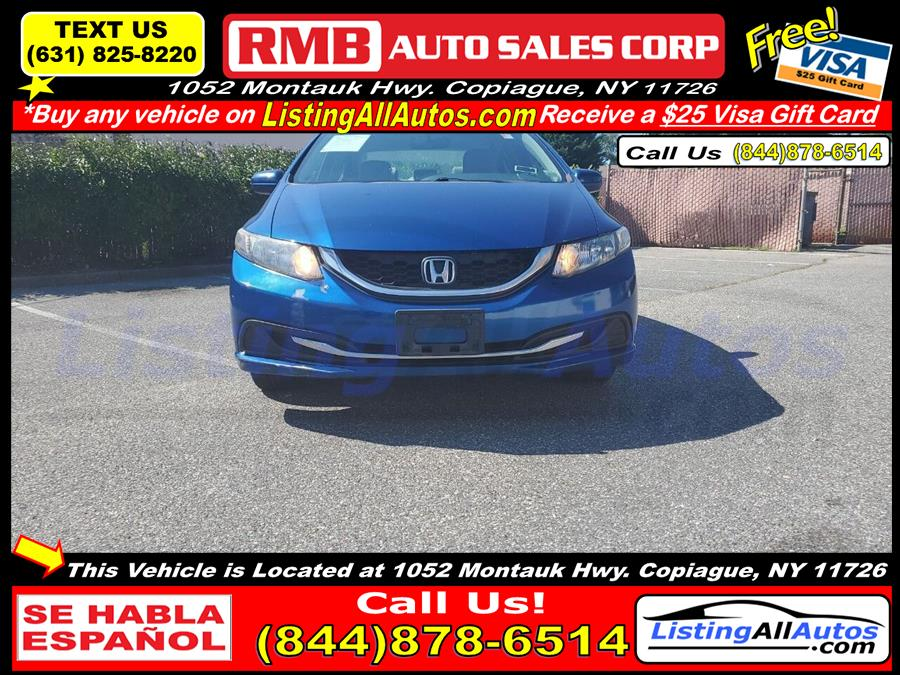 Used 2015 Honda Civic in Patchogue, New York   www.ListingAllAutos.com. Patchogue, New York