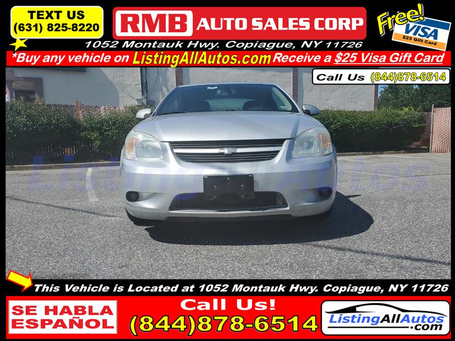 Used Chevrolet Cobalt SS 2dr Coupe w/ Front and Rear Head Airbags 2006 | www.ListingAllAutos.com. Patchogue, New York