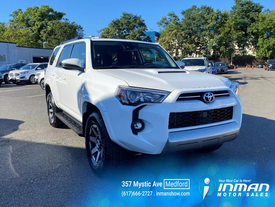 Used Toyota 4Runner TRD Off Road 4WD (Natl) 2021 | Inman Motors Sales. Medford, Massachusetts